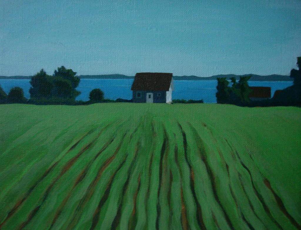 Kullen akryl 22#27 Marie Åström konst