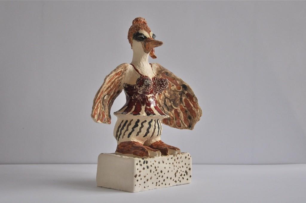 Skulptur keramik Marie Åström