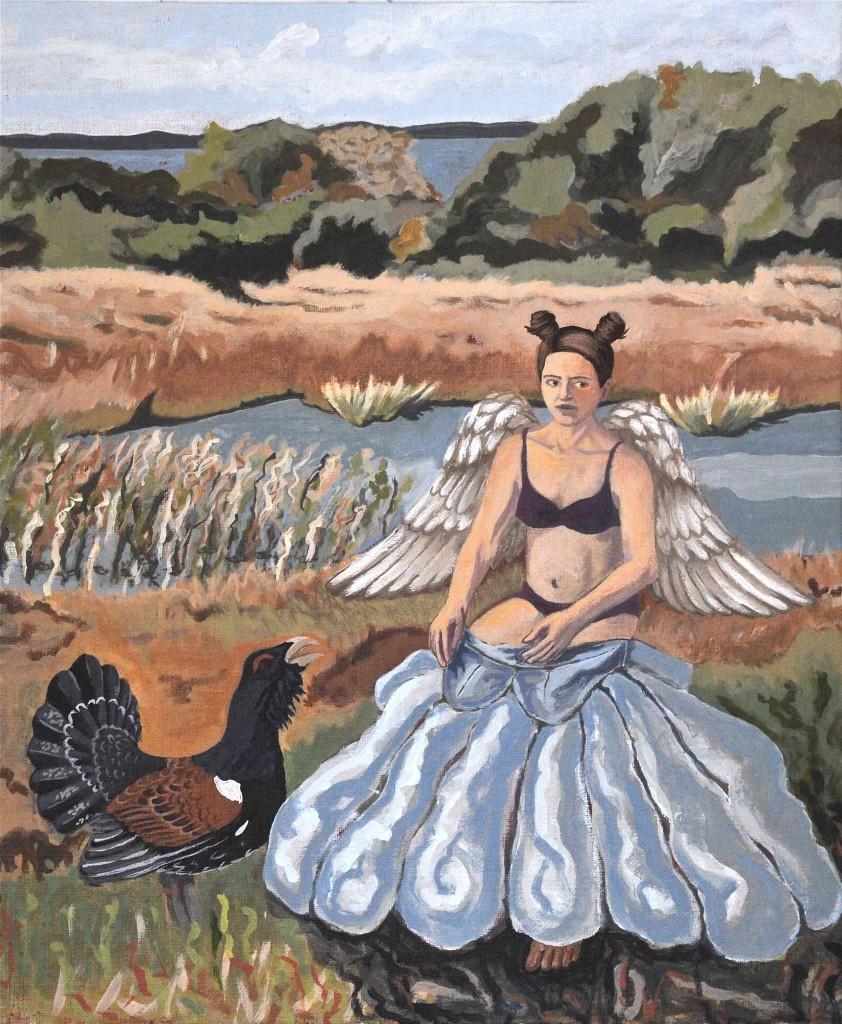 Marie Åström Målningar Fairy Tales